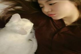 소녀시대 써니, 반려묘 소금이랑 찰칵! 반가운 근황