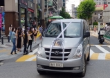 서울 도심 곳곳에서 '개식용 금지'를 촉구하는 드라이브쓰루 집회 열려